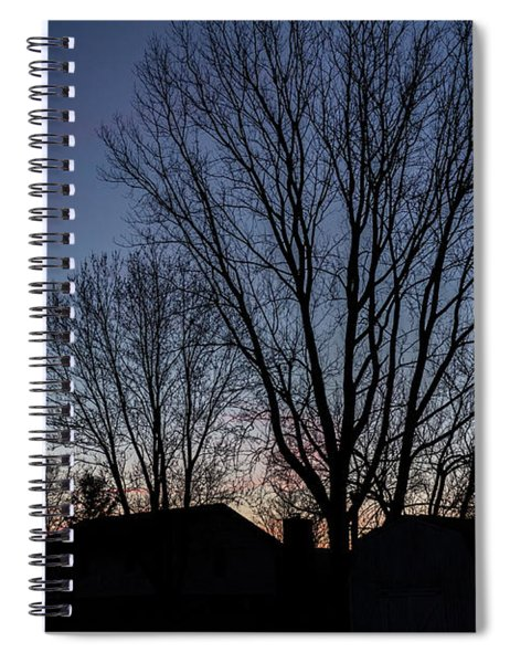 Moonlit Sunrise Spiral Notebook