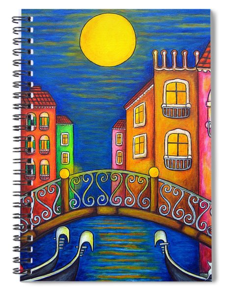 Moonlit Venice Spiral Notebook
