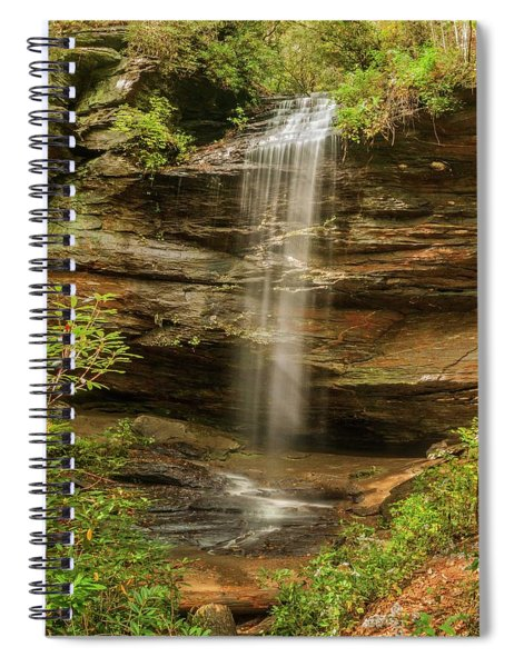 Moore Cove Falls Spiral Notebook