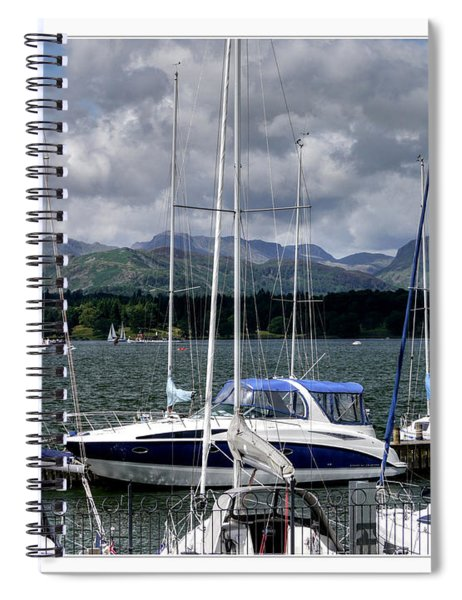 Moored In Beauty Spiral Notebook
