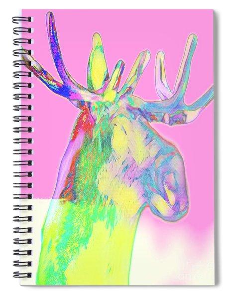 Moosemerized Spiral Notebook