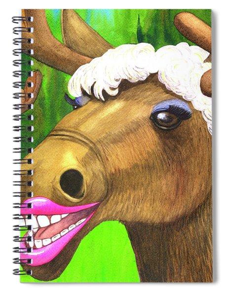 Moose Lips Spiral Notebook