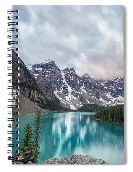 Moraine In The Summer Spiral Notebook