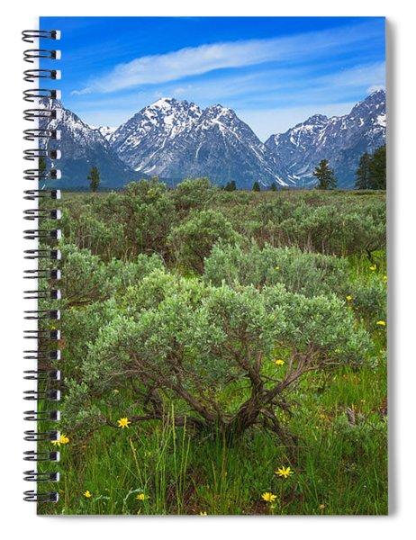 Moran Meadows Spiral Notebook