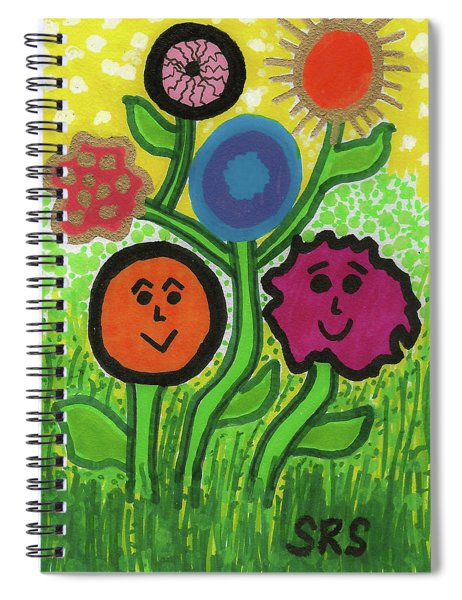 More Happy Days Spiral Notebook