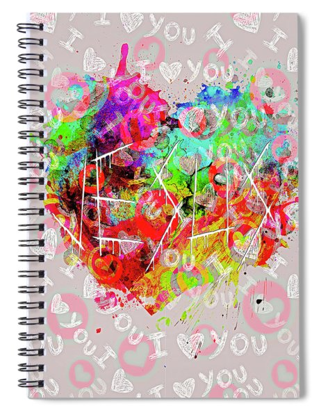More Love Spiral Notebook