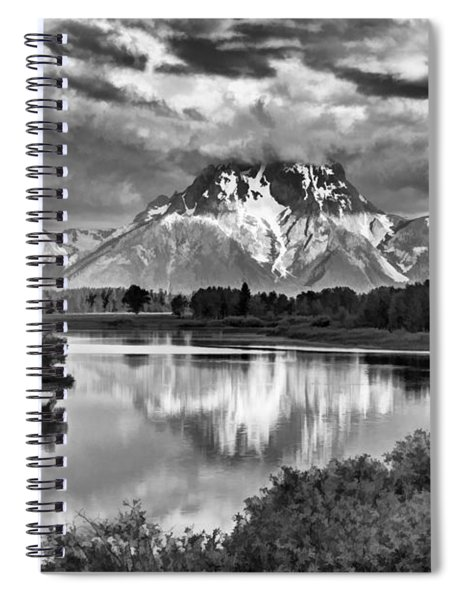 More On The Mountain II Spiral Notebook