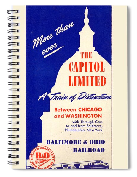 More Than Ever, The Capitol Limited Spiral Notebook