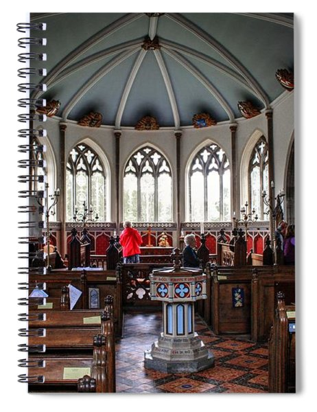 Moreton Church Dorset  Spiral Notebook