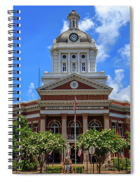 Morgan County Court House Spiral Notebook