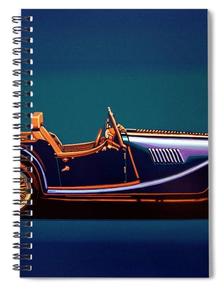 Morgan Roadster 2004 Painting Spiral Notebook