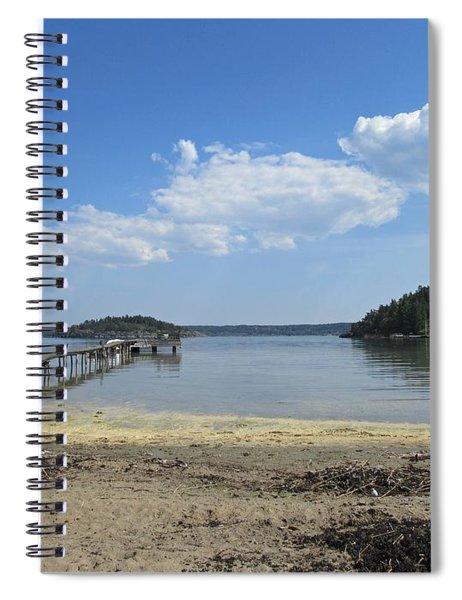Aspvik On Morko Island Spiral Notebook