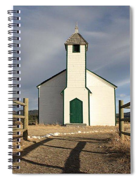 Morley Settlement Spiral Notebook