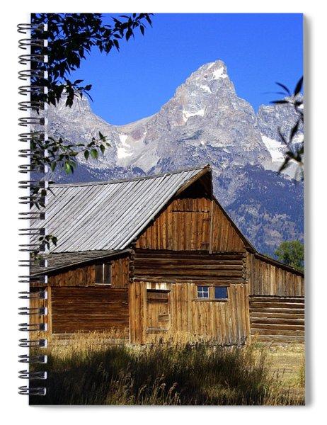 Mormon Row Barn  1 Spiral Notebook
