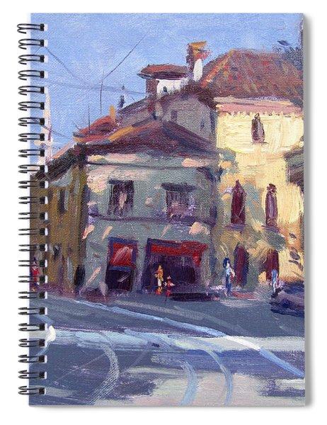 Morning At Padua Italy Spiral Notebook