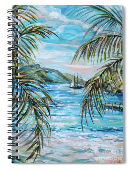 Morning At Turtle Bay Spiral Notebook