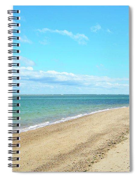 Morning Beach Walk Spiral Notebook