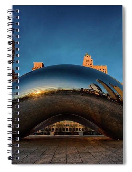 Morning Bean Spiral Notebook