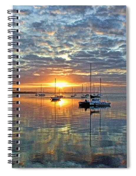 Morning Bliss Spiral Notebook