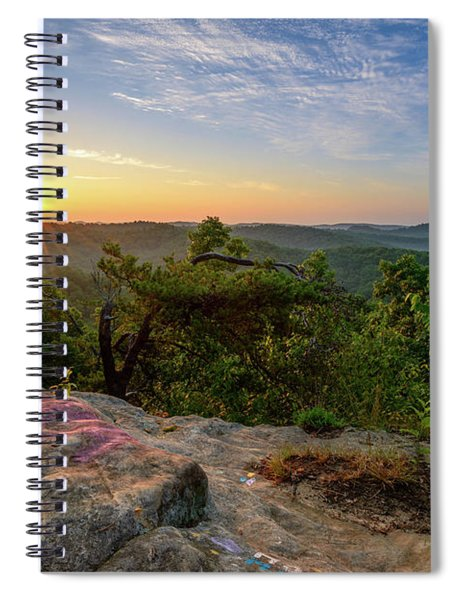 Morning Colors Spiral Notebook