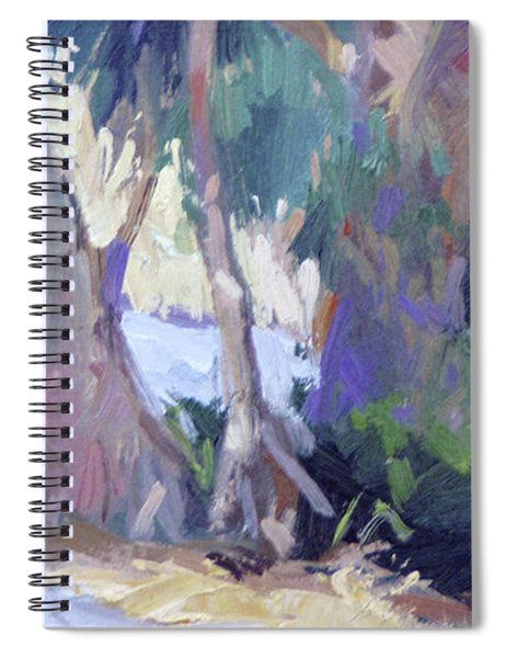 Morning Dance - Catalina Island Spiral Notebook