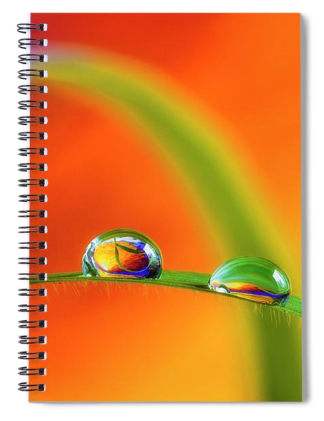 Morning Dewdrops Spiral Notebook