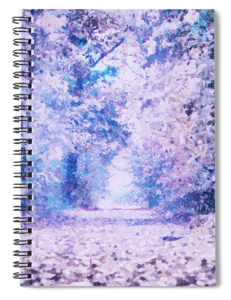 Morning Fantasy Forest Impressions Spiral Notebook