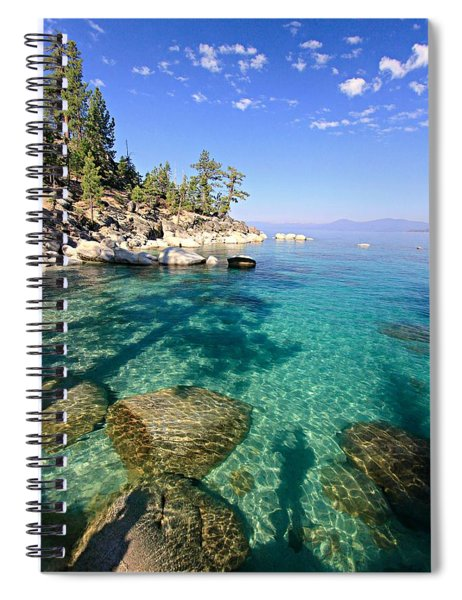 Morning Glory At The Cove Spiral Notebook
