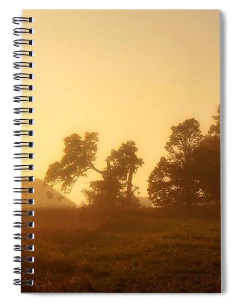 Morning Glow Spiral Notebook