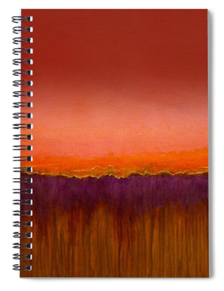Morning Has Broken - Art By Jim Whalen Spiral Notebook