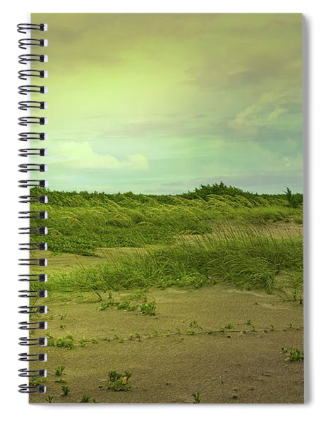 Morning In The Barrier Islands Spiral Notebook
