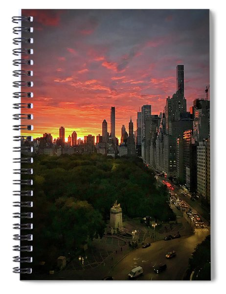 Morning In The City Spiral Notebook