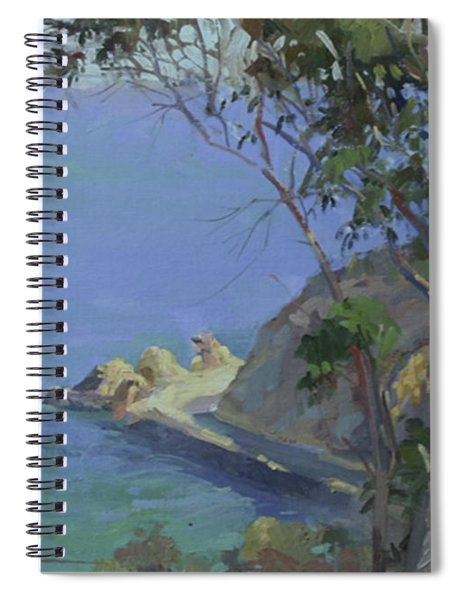 Morning Light Catalina Spiral Notebook
