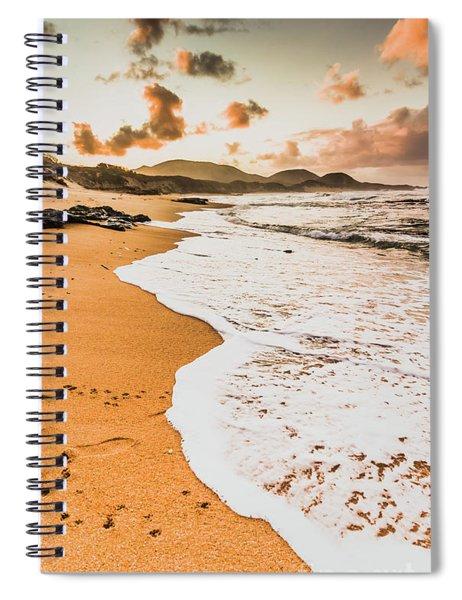 Morning Marine Wash Spiral Notebook