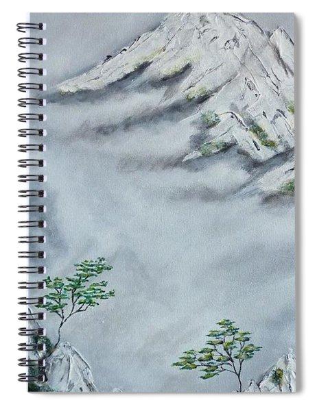 Morning Mist 2 Spiral Notebook