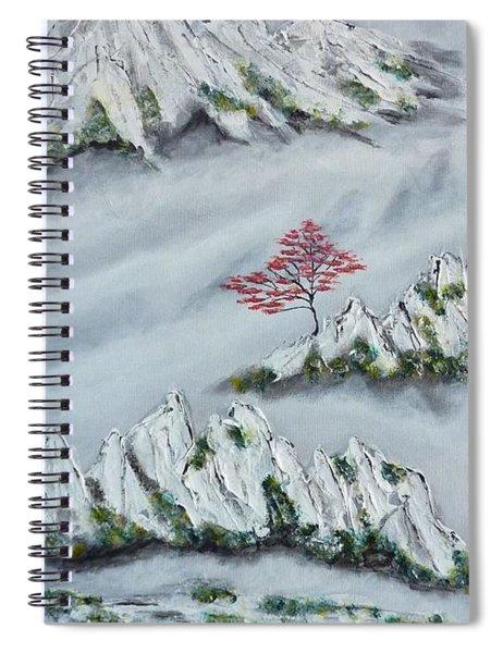 Morning Mist 3 Spiral Notebook