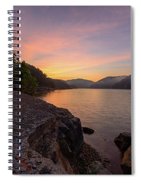 Morning On The Bay Spiral Notebook