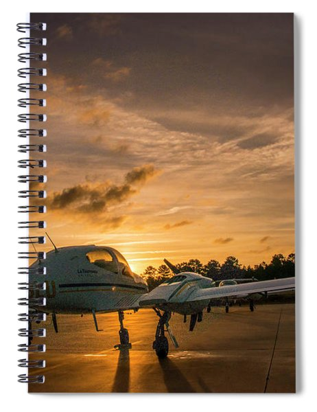 Morning On The Ramp Spiral Notebook