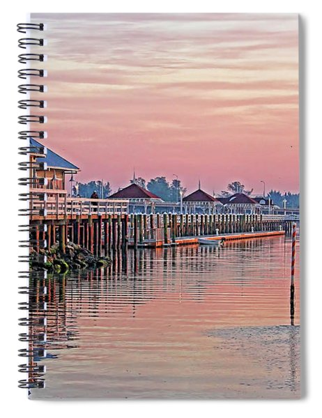 Morning Peace Spiral Notebook