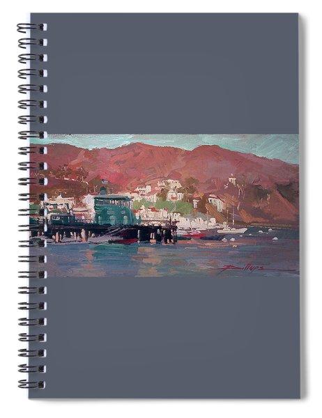 Morning Pleasures - Catalina Harbor Spiral Notebook