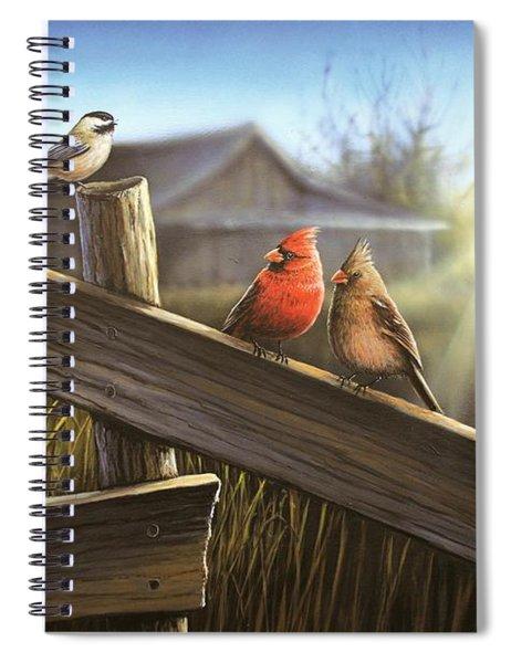 Morning Song Spiral Notebook