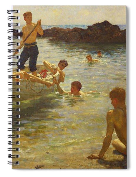 Morning Splendour Spiral Notebook