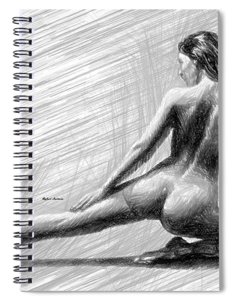 Morning Stretch Spiral Notebook