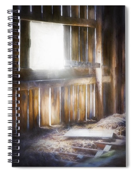Morning Sun In The Barn Spiral Notebook