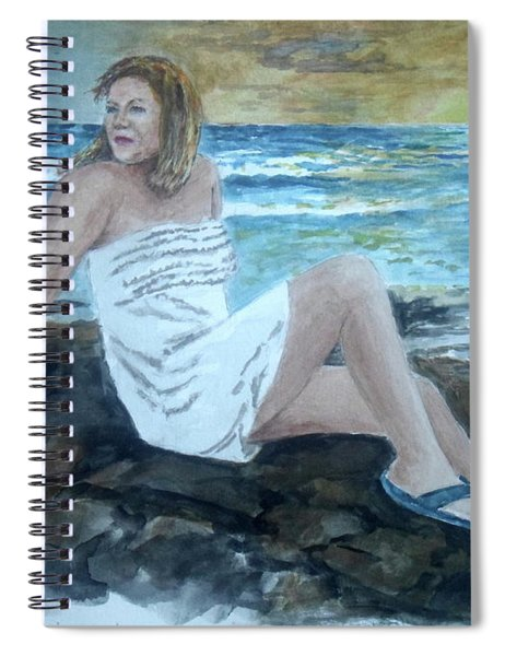 Morning Sunshine At Quebradillas Pr Spiral Notebook