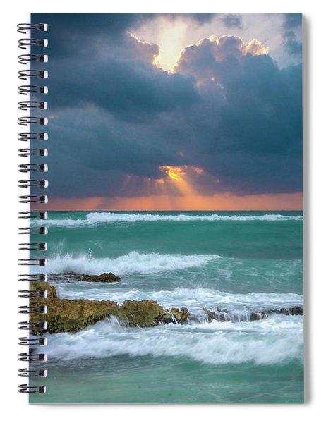 Morning Surf Spiral Notebook
