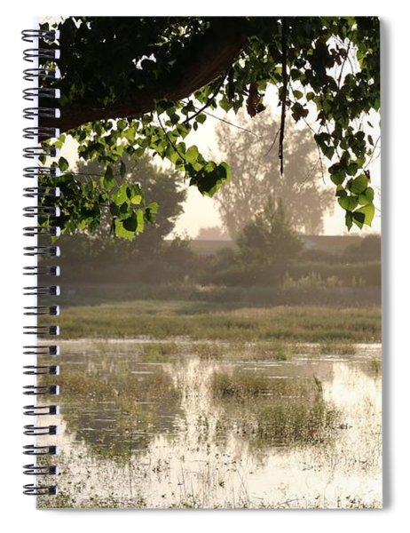 Morning Tranquility  Spiral Notebook