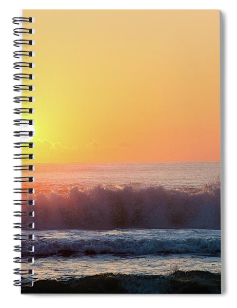 Morning Waves Spiral Notebook