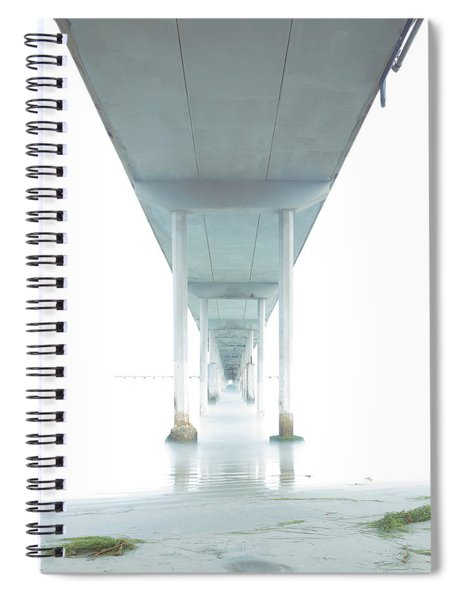 Mornings Underneath The Pier Spiral Notebook