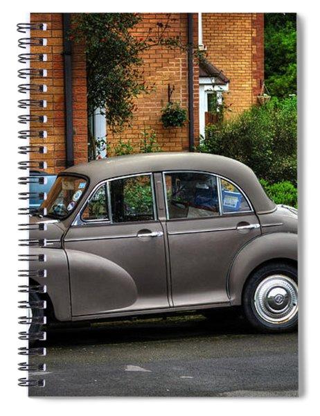 Morris Minor Spiral Notebook